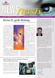 Newsflash August 2007 - Channel Microelectronic GmbH