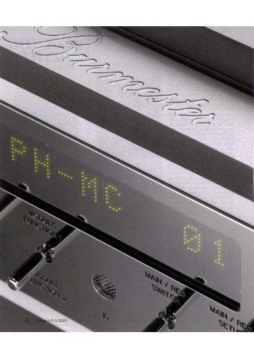 Ganzseitiges Foto - Burmester Audiosysteme GmbH