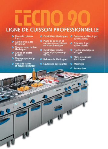 LIGNE DE CUISSON PROFESSIONNELLE