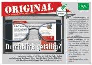 Ausgabe 03/2012 Durchblick gefällig? - Original