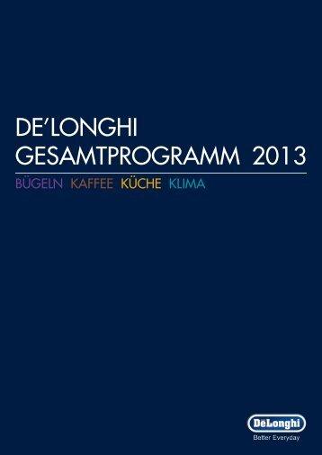 Delonghi 2013 - Fernseh-Max
