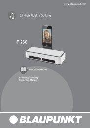 IP 230 IM 20110328 - Blaupunkt
