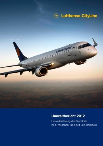 Umweltbericht 2012 - Lufthansa CityLine GmbH