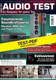 audio test - music line