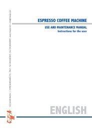 CMA Lisa Manual - Love Coffee Machines