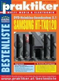 Testbericht Samsung HT-TXQ120 aus