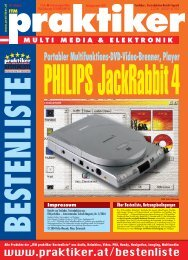 PHILIPS JackRabbit4: Portabler Multifunktions-DVD ... - Praktiker.at