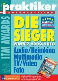 ITM praktiker Awards-Dokumentation Die Sieger Winter ... - praktiker.at
