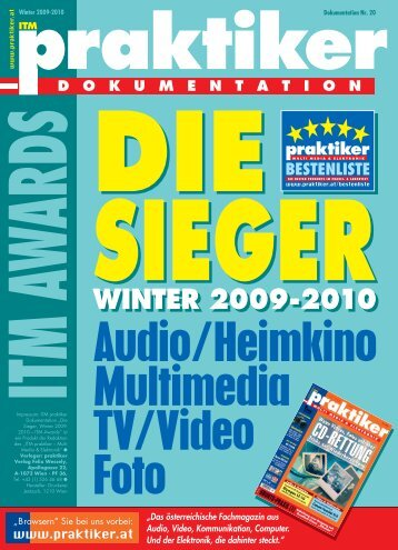 ITM praktiker Awards-Dokumentation Die Sieger Winter ... - praktiker.at