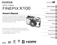 Finepix X100 Manual - Fujifilm