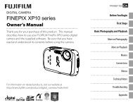 FinePix XP10 series - Fujifilm