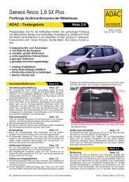 Daewoo Rezzo 1,6 SX Plus - ADAC