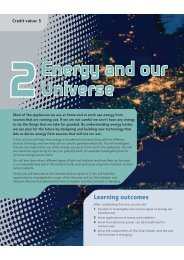 Energy and our Universe - Pearson Schools