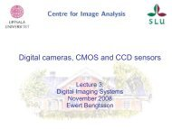 Digital cameras, CMOS and CCD sensors Lecture 2: Digital Imaging ...