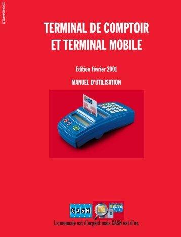 TERMINAL DE COMPTOIR ET TERMINAL MOBILE - IEM