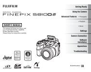 FinePix S8100fd Owner's Manual - Fujifilm