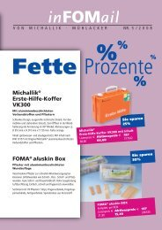 Michallik® Erste-Hilfe-Koffer VK300 FOMA® aluskin Box