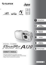 FinePix A120 Manual - Fujifilm