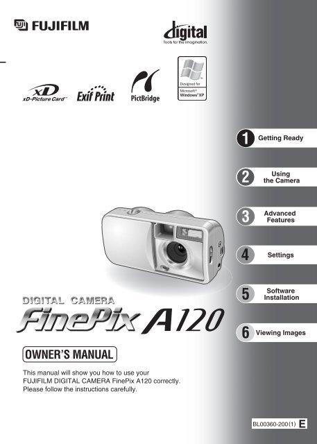 FinePix A120 Manual - Fujifilm