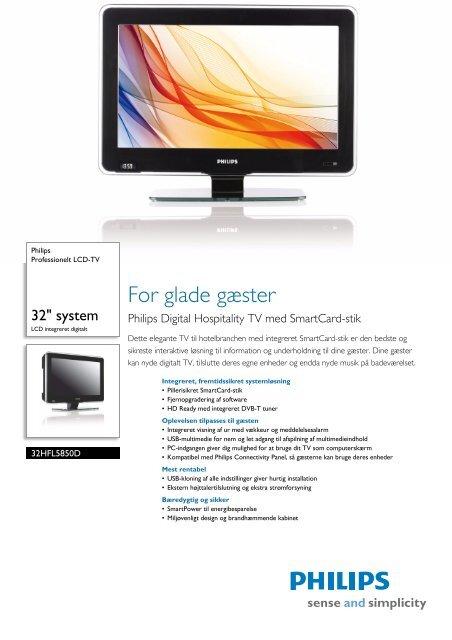 32HFL5850D/10 Philips Professionelt LCD-TV