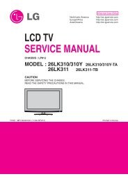 Hacking Lg 32lh3000 Lcd Tv Set And Family Table Of Openlgtv