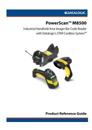 PowerScan PM8500 Manual - POSMicro.com