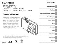 J27_J28_J29_J30_J32_J37_J38 Owner's Manual - Fujifilm