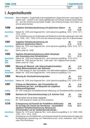 I. Augenheilkunde - medical text online