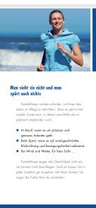 Infomaterial über Pflege von Kontaktlinsen - optik deppe optik deppe - Seite 4
