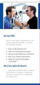 Infomaterial über Pflege von Kontaktlinsen - optik deppe optik deppe - Seite 6