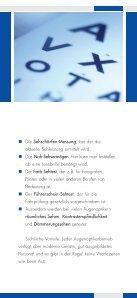 Infomaterial über Pflege von Kontaktlinsen - optik deppe optik deppe - Seite 7