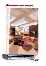 Pioneer Home Entertainment Guides 2005-2006
