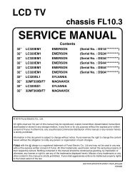 SERVICE MANUAL - Encompass Parts