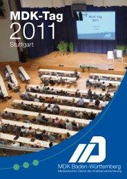 Bildband des MDK-Tages 2011 - MDK-Baden Württemberg