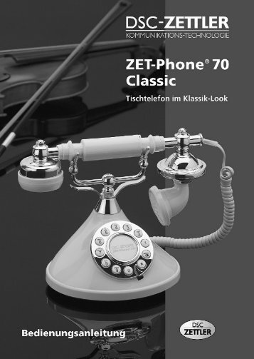 Bedienungsanleitung - Dsc-zettler.ch