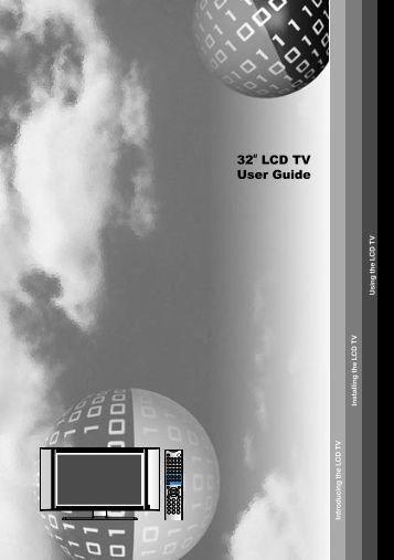 32 LCD TV User Guide - Emprex