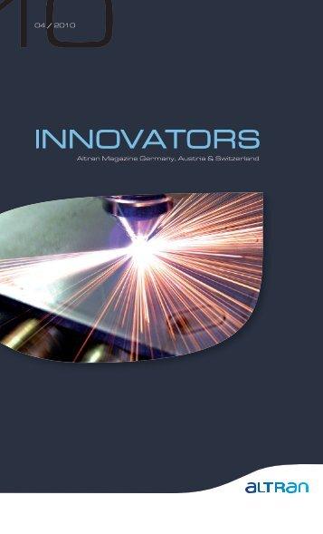 """Innovators"" Magazin Nr. 4/10 - Altran"