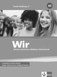 WIR 2 LHB Wiederholungsmodul.indd - Klett Kiadó