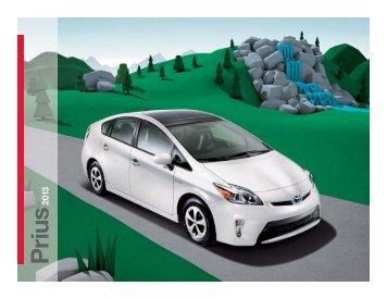2012 Prius - Toyota