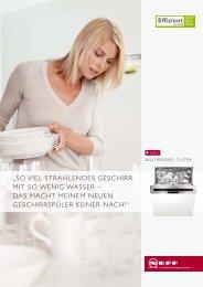 so viel strahlendes geschirr mit so wenig wasser - kd-services.de