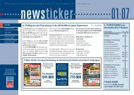 newsticker 01/2007 - WEKA Mediengruppe München