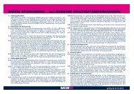 allgemeine geschäftsbedingungen - MDR-Werbung