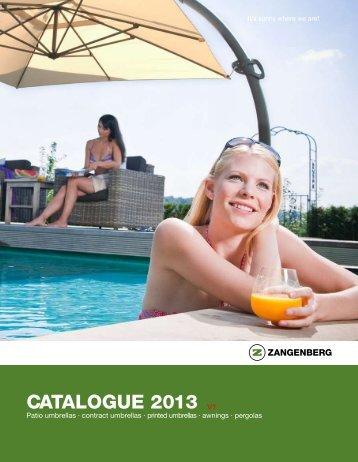 Zangenberg Sonnenschirme Katalog 2012 - Sonnenschirme von ...