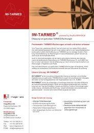 IW-TARMED - ImageWare AG