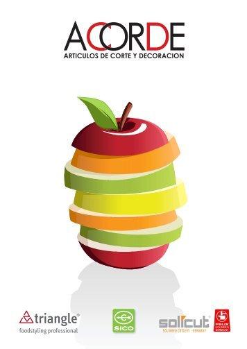 Descargar Catálogo Acorde - Inicio - Articulos de corte y decoracion