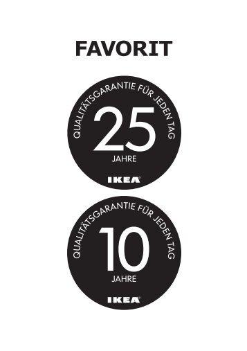 Garantien (pdf) - Ikea