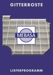 Katalog Gitterroste als PDF inkl. Technischer Zeichnungen ... - Mebasa
