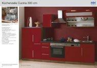 Küchenzeile Cucina 300 cm - Mebasa