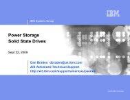 Power Storage Solid State Drives - IBM