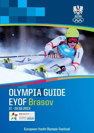 OLYMPIA GUIDE EYOF Brasov - ÖOC